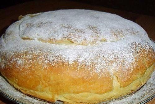 Это египетская сладость, то ли пирог, то ли пирожное, но скажу одно — это безумно вкусно.