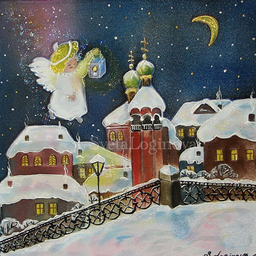 Логинова Светлана. Рождественская сказка