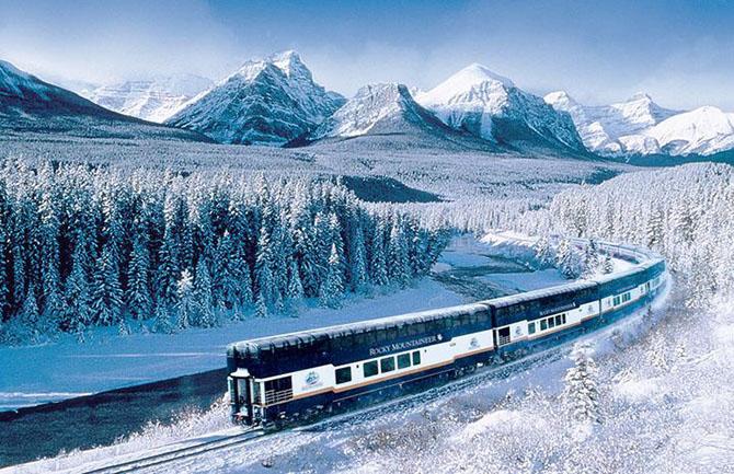 Захватывающие дух маршруты путешествий на поездах