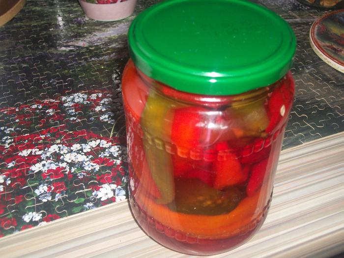 Перец горький маринованный в сахаре