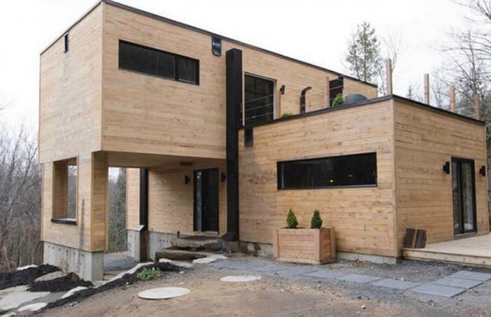 Девушка построила прекрасный дом из обычных контейнеров