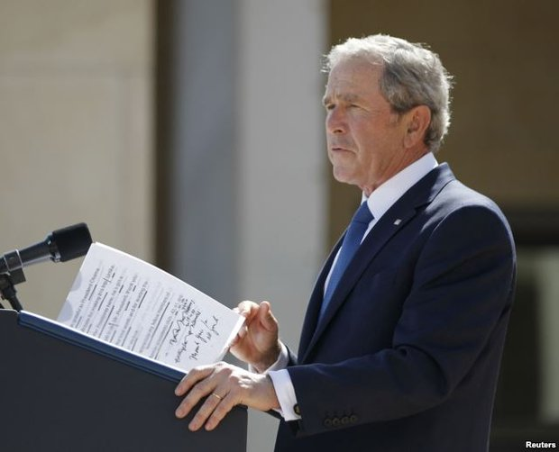 Джордж Буш. Фото: Reuters