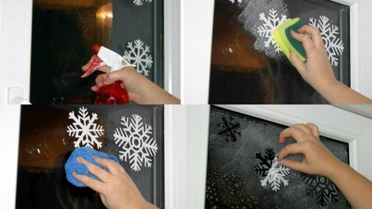 как украсить окна