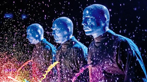 Blue Man Group впервые в России