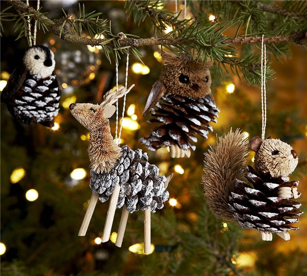 10 новогодних игрушек для самой нарядной елки