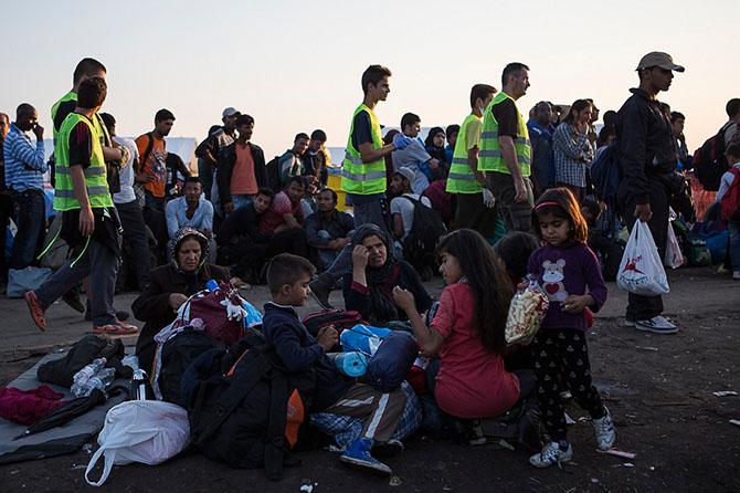 Европа закрыла границу для мигрантов