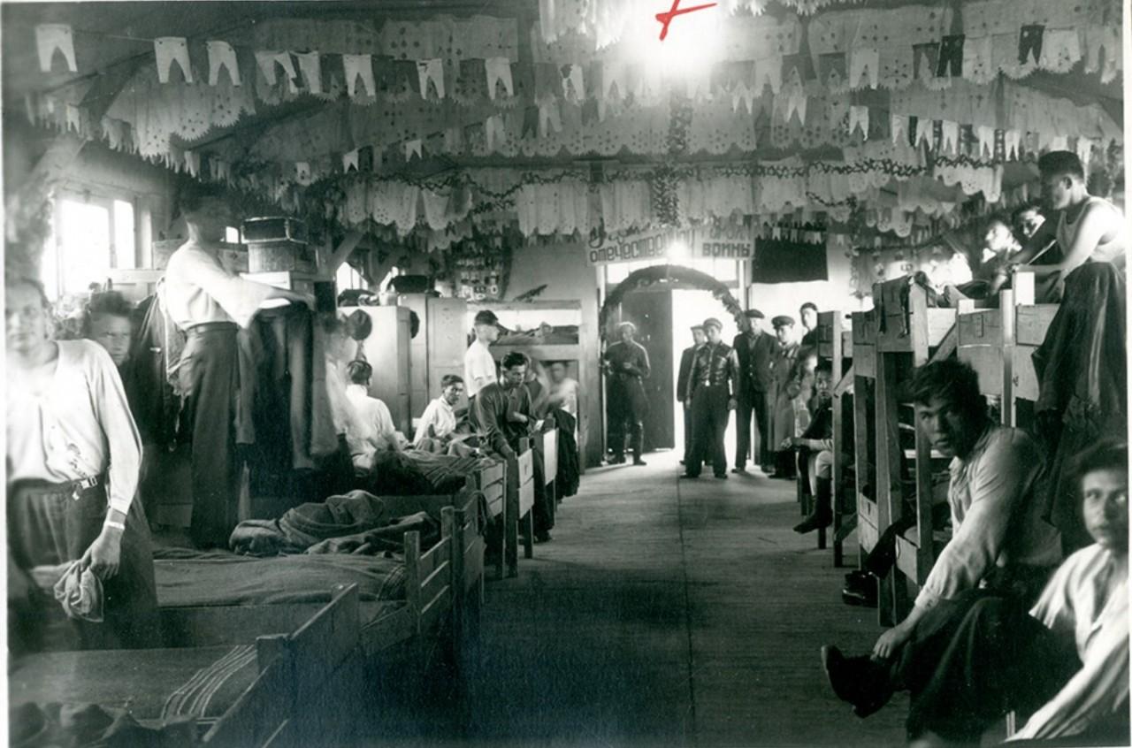 Жизнь в фильтрационных лагерях НКВД