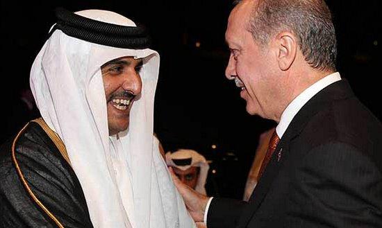 Пара на пару в подкидного дурака. Играют Турция и Катар против Израиля и США