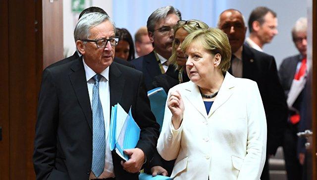 Меркель и Юнкер сбрасывают Н…
