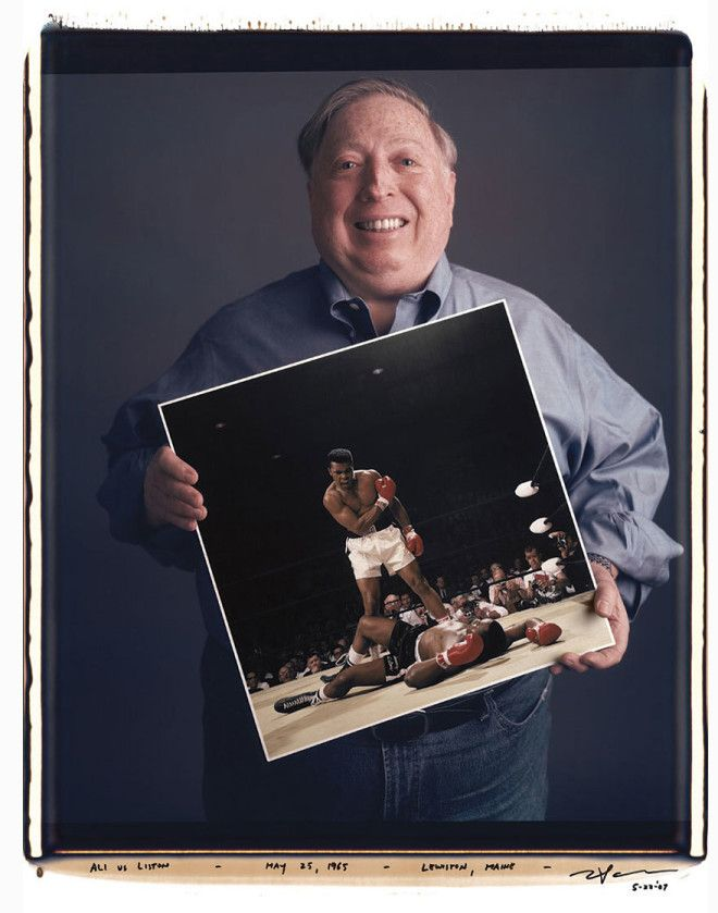 Нейл Лейфер Neil Leifer Али против Листона 1965 год