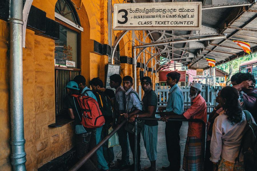 Шриланкийские железные дороги