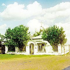 Так выглядела часовня на месте заточения боярина Романова в 1910 году. Фотограф С.М. Прокудин-Горский
