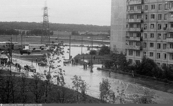 Прогулка по Москве 1981 года