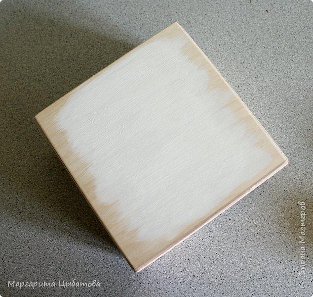 Декор предметов Мастер-класс День семьи Декупаж Ложный обжиг и браширование древесины Дерево Фанера фото 5