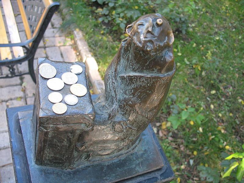 Памятник Рабиновичу, герою одесских анекдотов. Одесса Прикольные памятники, факты