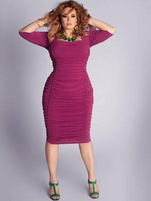 Вечерние платья для полных женщин: лучшие фасоны