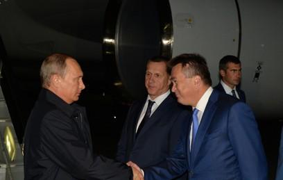 Путин прибыл во Владивосток на Восточный экономический форум