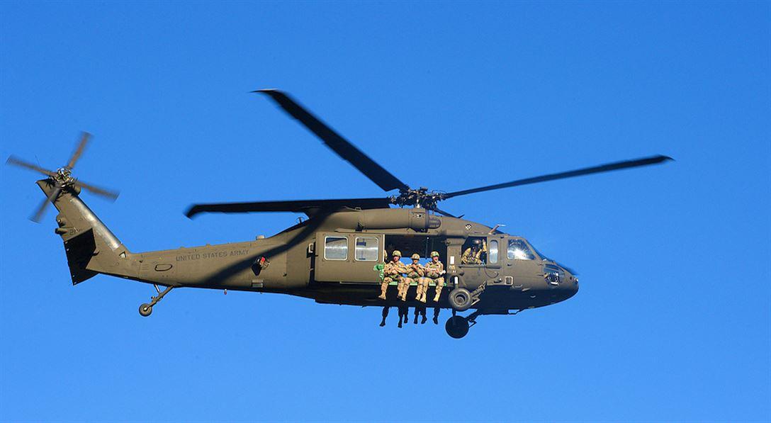 США планируют поставить Латвии четыре вертолета UH-60M Black Hawk