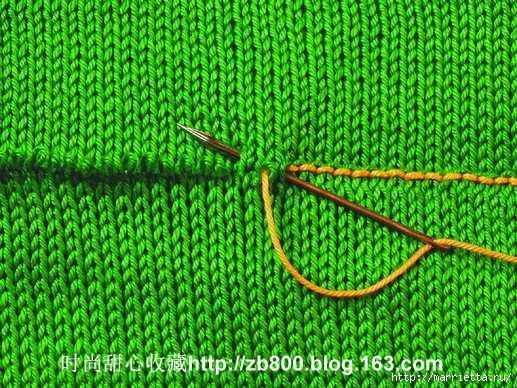 Способы соединения вязаных спицами деталей (12) (517x388, 231Kb)