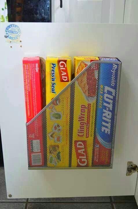 Обратная сторона двери: используем для хранения нужных вещей