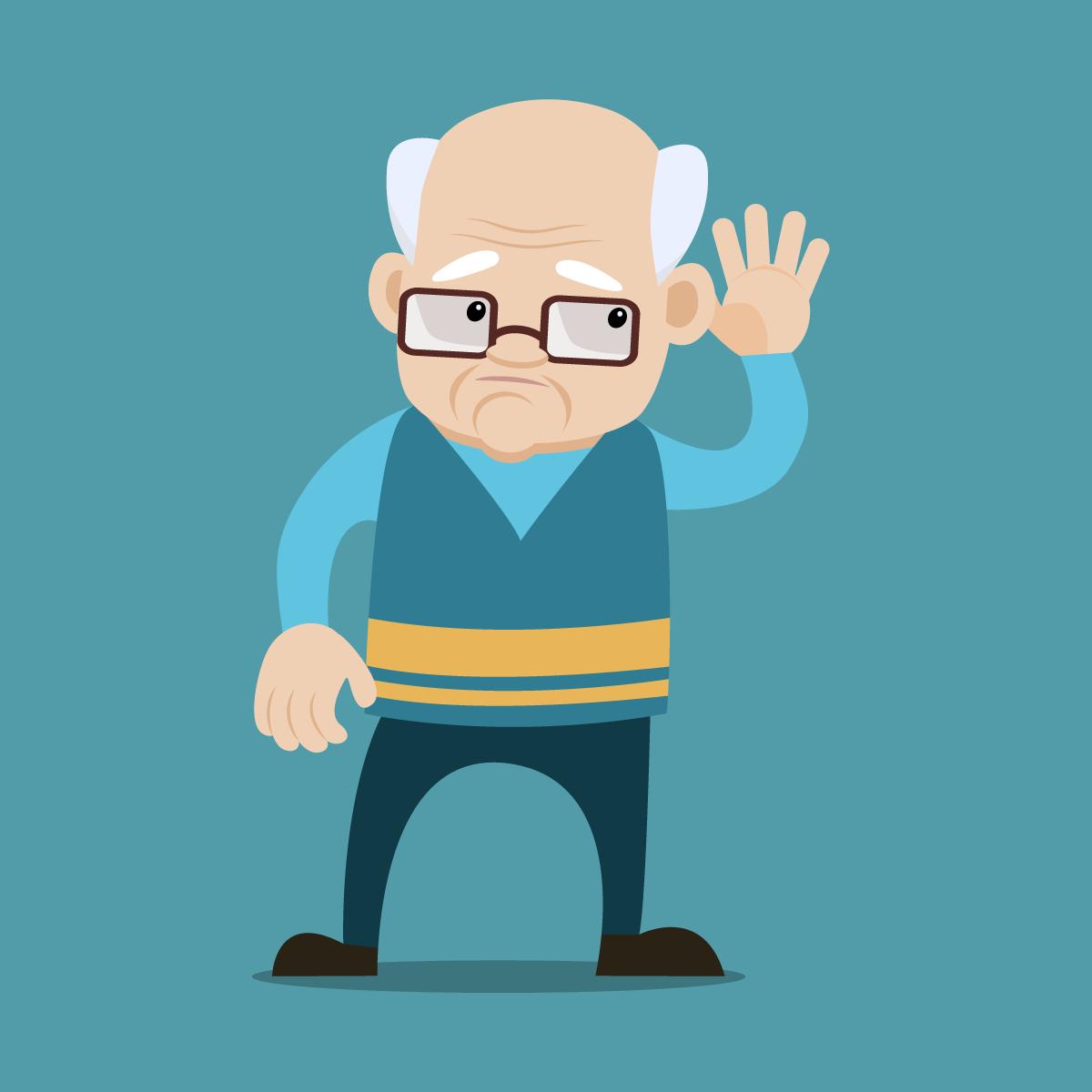 Анекдот про то, как дедушка непризнавался семье, чтообрёл слух