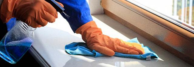Чем отмывать пластиковый подоконник