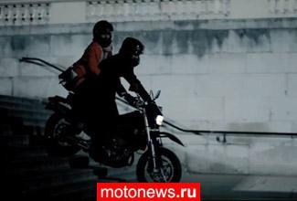 Новый «Шерлок» - Камбербэтч на мотоцикле...