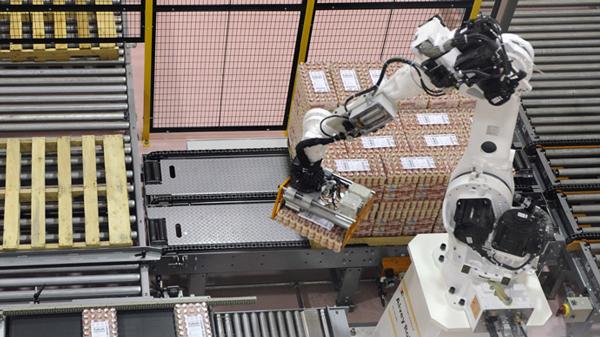В Китае роботы заменили людей