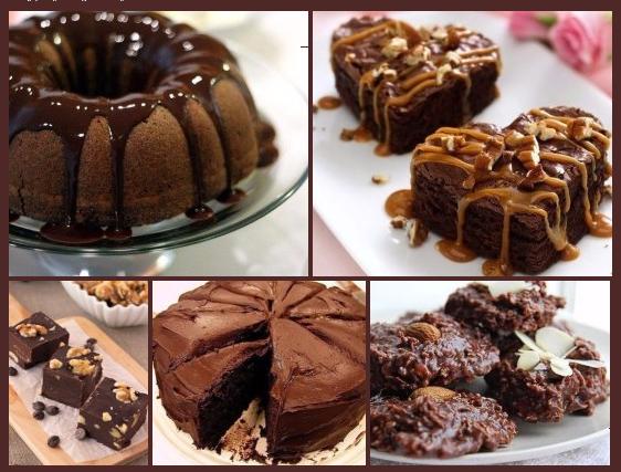Шоколадный рай! 10 шоколадных десертов за 10 минут