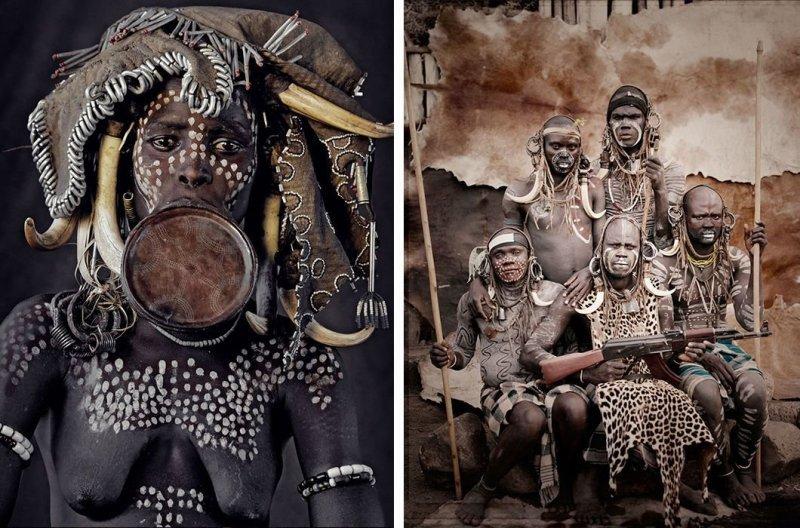 Народ мурси, Эфиопия африка, народ, племя, фото, фотограф, фотография, фотомир, фотопроект
