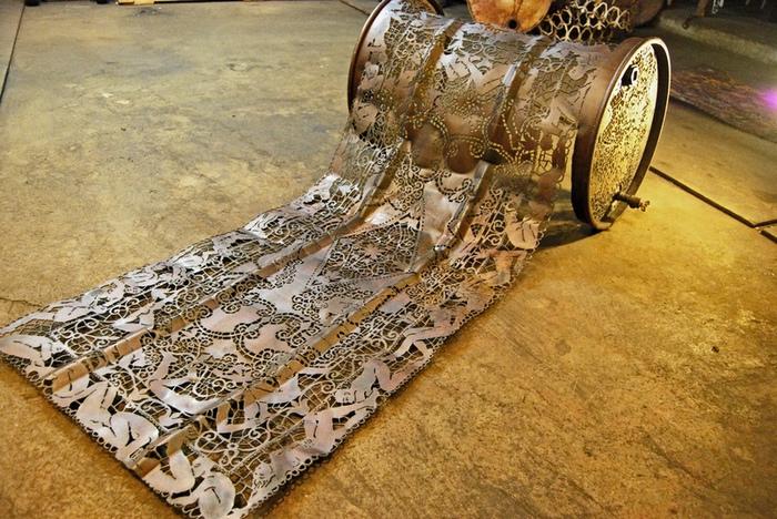 Работа по металлу своими руками