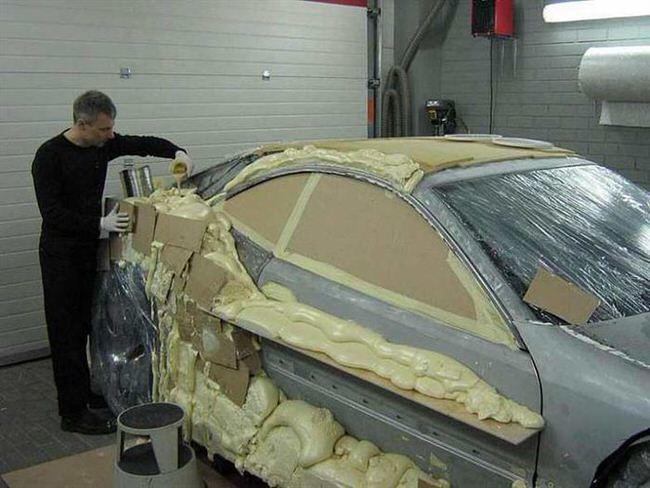 Ремонт битых авто своими руками фото