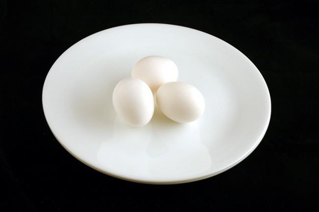 Отварные куриные яйца — 150 г диета, еда, калории