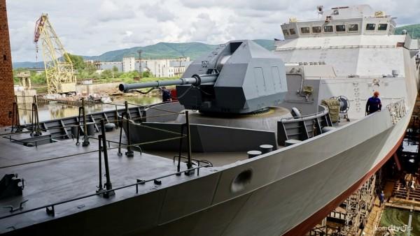 Новейший боевой корабль прой…
