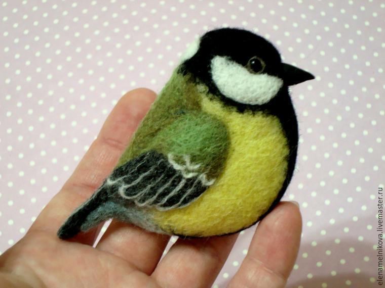 Из чего сделать птичек своими руками 731