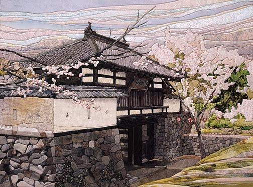 Шелковая мозаика - Кинусайга