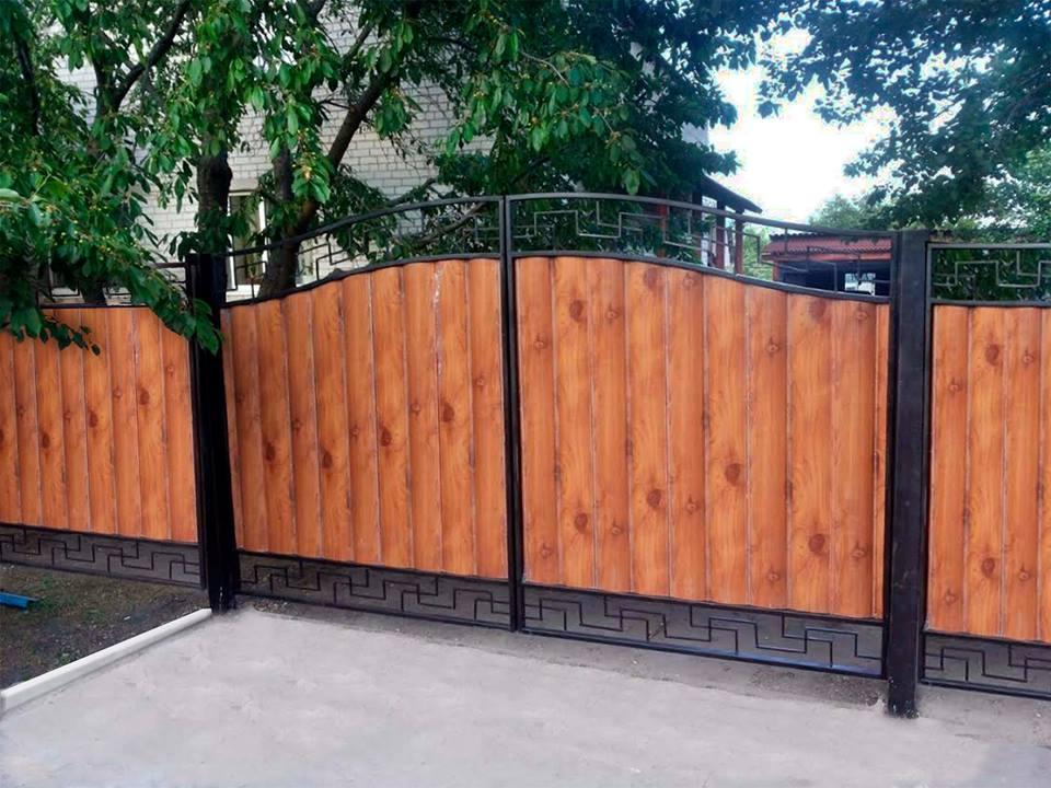 Забор из сайдинга своими руками 79