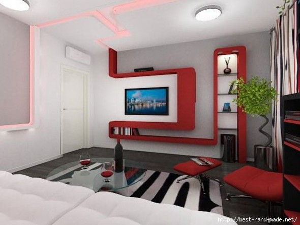 Small-Apartment-Design-with-Retro-Futurism-in-Interior-Space-Wall-and-Ceiling-Interior-590x442 (590x442, 109Kb)