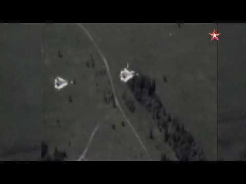 Боевой разворот Су-57 сняли с беспилотника