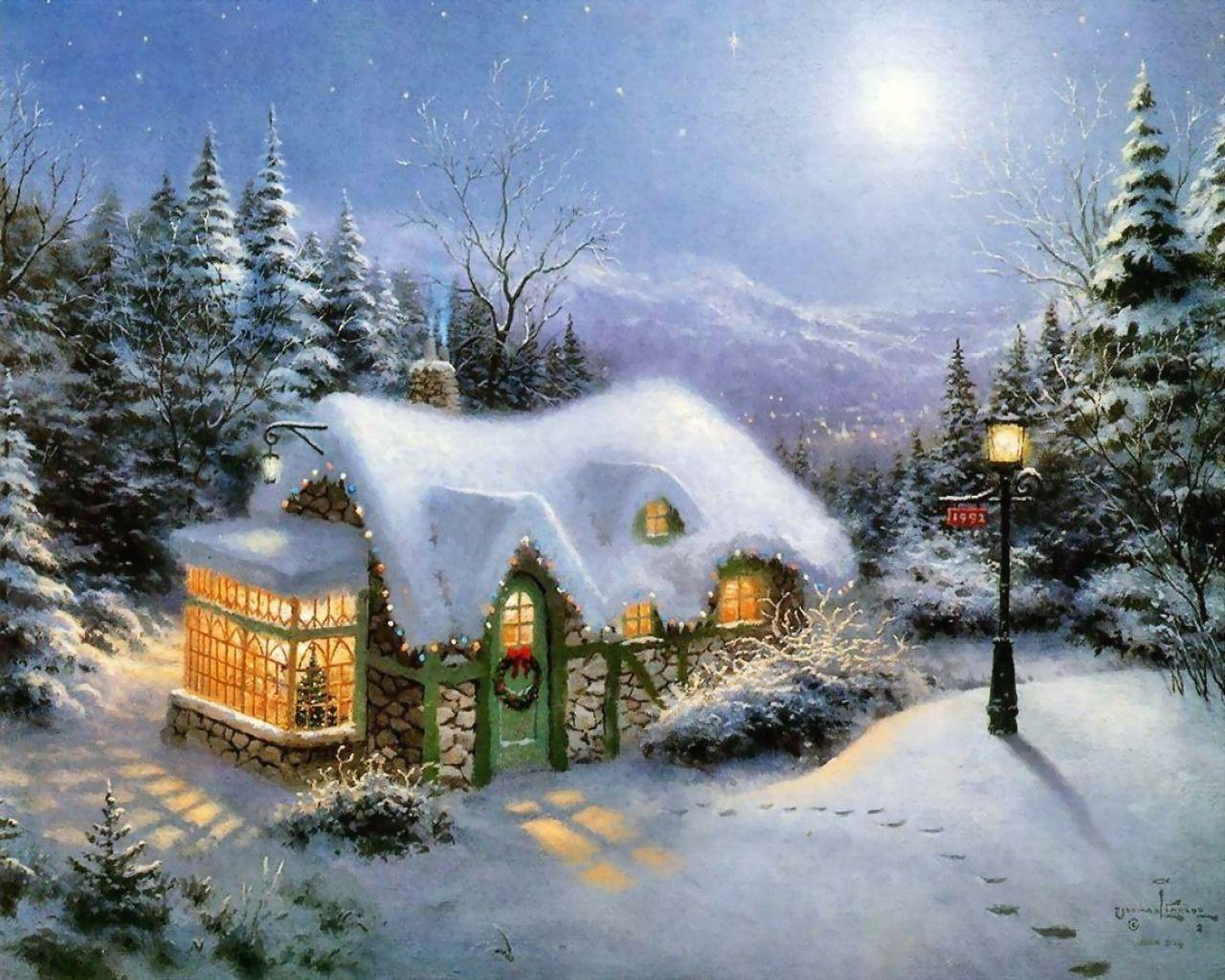 http://images4.fanpop.com/image/photos/23400000/Thomas-Kinkade-Winter-winter-23436564-1280-1024.jpg