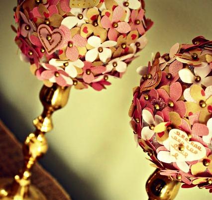 Топиарий на День Святого Валентина