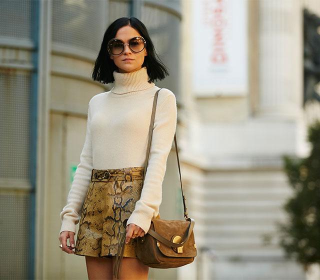 Неделя моды в Париже, весна-лето 2016: street style. Часть 1 (фото 15)