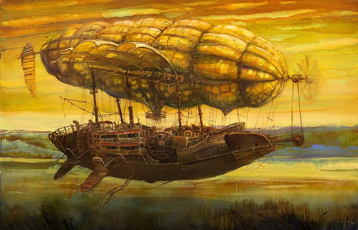 Картины Modestas Malinauskas. Литовский художник пишет маслом необычные картины