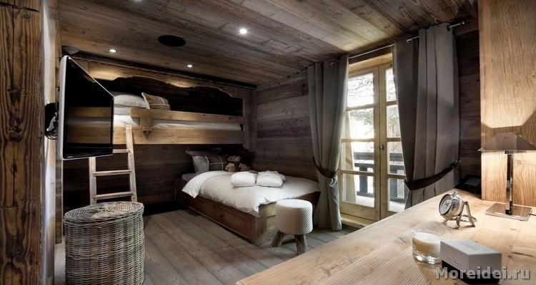 Дизайн в спальне взрослой