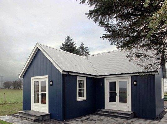 Можно ли обустроить дом на 40 квадратных метрах и сделать его комфортным для жизни? А вот, посмотрите сами!