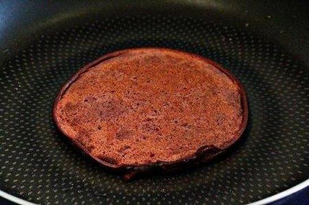 Шоколадный торт из блинчиков.