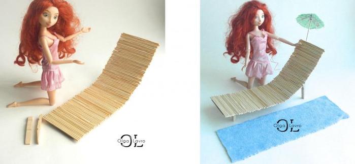 Как сделать большой дом для кукол фото 720