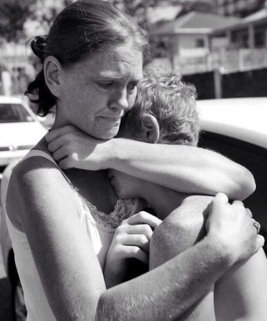 Самая родная: удивительно трогательные фотографии мам и их детей