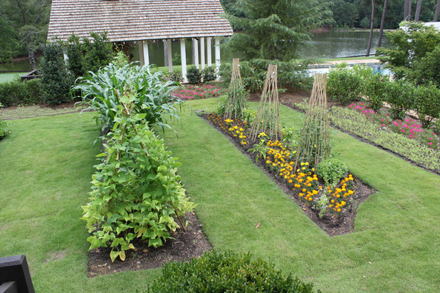 Кантри Ландшафт Farmhouse Landscape