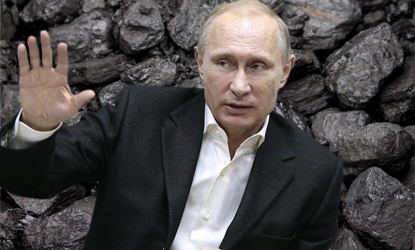 Путин приказал возобновить поставки угля на Украину